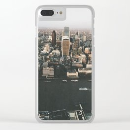 Top of the Shard, London Clear iPhone Case