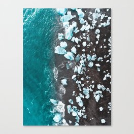 Diamond Beach, Iceland Canvas Print