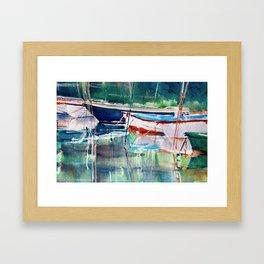 Dinghies Framed Art Print