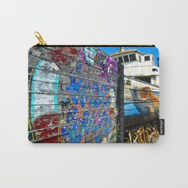 Old Sicilian Port of Alcitrezza Carry-All Pouch