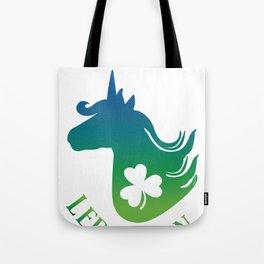 Unicorn Leprechaun St Patricks day  Tote Bag