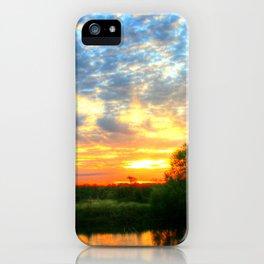 November East Texas Sunrise iPhone Case