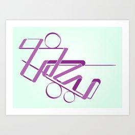 lazy Art Print
