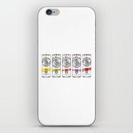 White Claw Full iPhone Skin