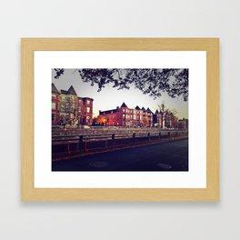 Resident District Framed Art Print