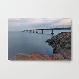 Confederation Twilight Bridge Metal Print