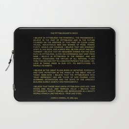 The Pittsburgher's Creed Laptop Sleeve