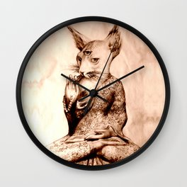 Devi Prayer Wall Clock