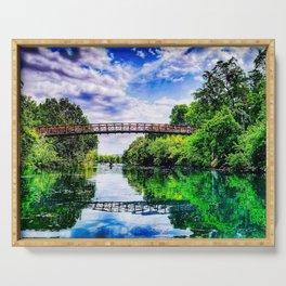 Barton Springs Bridge Serving Tray