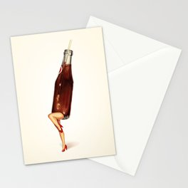 Soda Girl Stationery Cards