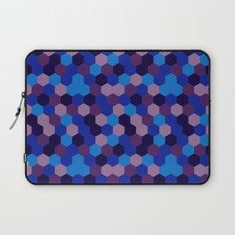 Hexagonal geometric pattern Laptop Sleeve