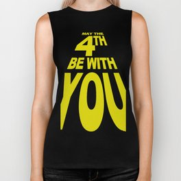 May The 4th Be With You Biker Tank