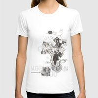 murakami T-shirts featuring Norwegian Wood Film Poster by Deborah Panesar Illustration