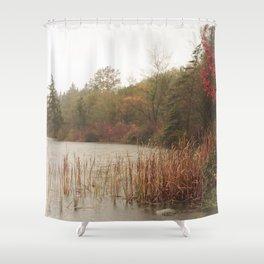Deer Lake Decrescendo Shower Curtain