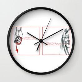 ionnalee; SAMARITAN Wall Clock