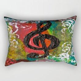 Create Music  Rectangular Pillow