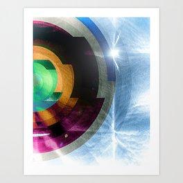 contacts Art Print