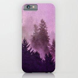 Misty Mountain Pass iPhone Case