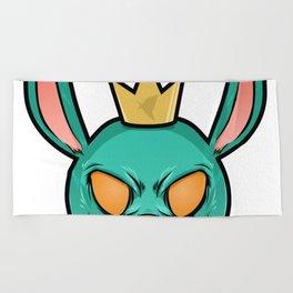 M4X Ghost Bunny Beach Towel