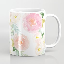 Sweet Pink Blooms (Floral 02) Coffee Mug