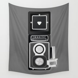 Camera Vintage, imagine Wall Tapestry