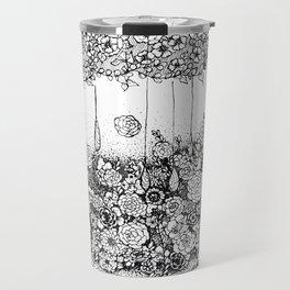 Anatomy Series: Skin Flowers Travel Mug