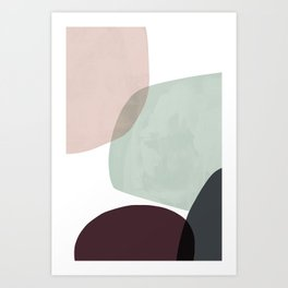 Gloop 3 Art Print