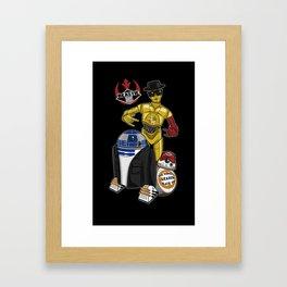 Beastie Droids Framed Art Print