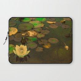Summer Waterlily Pond Laptop Sleeve