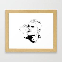 Icardi Print Framed Art Print