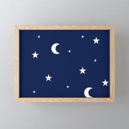 starry night Framed Mini Art Print