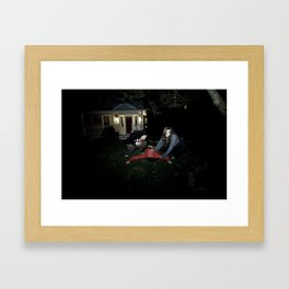 Cannibalism. Framed Art Print