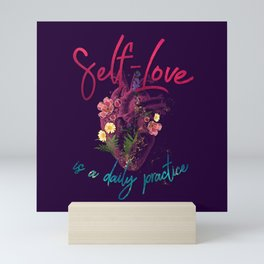 Kelly-Ann Maddox Collection :: Self-Love (Illustrated) Mini Art Print