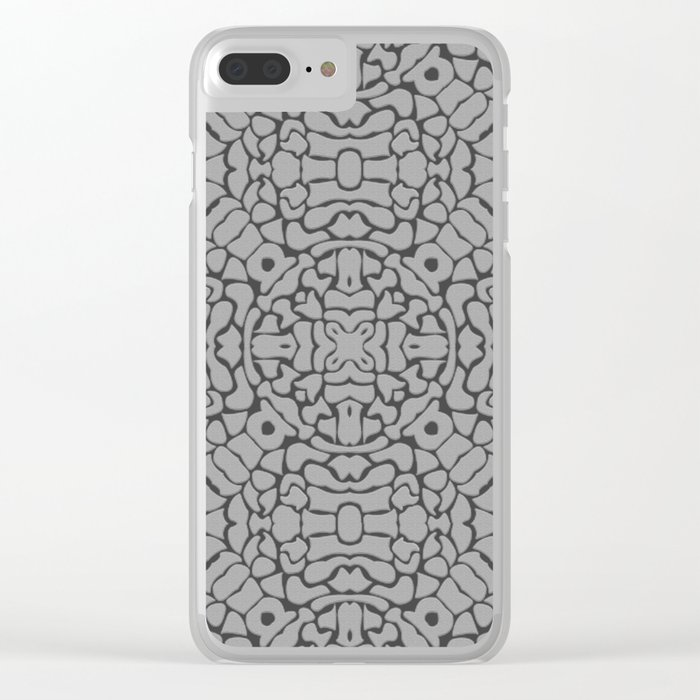 Pattern #12 Clear iPhone Case