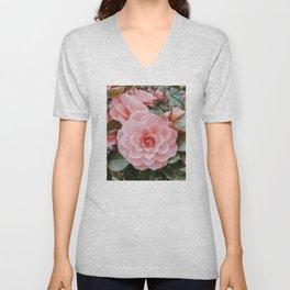 Camelia Rose  Unisex V-Neck