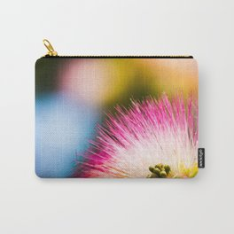 Exotic summer pink silk tree mimosa Carry-All Pouch