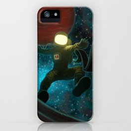 Cosmonaut: Untethered iPhone Case
