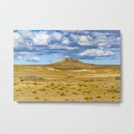 Patagonian Landscape Scene, Argentina Metal Print