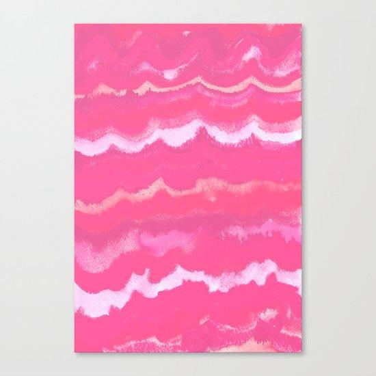 Colour Waves Canvas Print