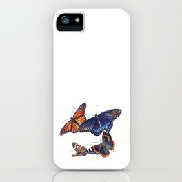 North American Butterflies iPhone Case