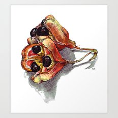Ackee Art Print