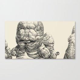 Cyanominoid Group Canvas Print