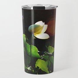 Sunset Lotus Travel Mug