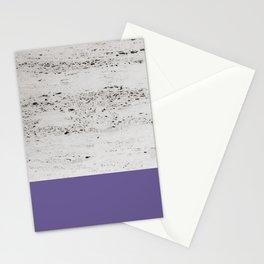 Ultra Violet on Concrete #3 #decor #art #society6 Stationery Cards