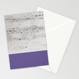 Ultra Violet on Concrete #3 #decor #art #society6 Stationery Cards