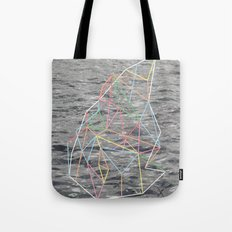 You Listen in Colors Tote Bag