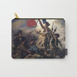 Liberty Leading the People by Eugène Delacroix (1830) Carry-All Pouch