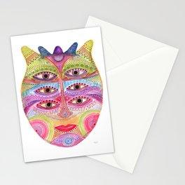 kindly expressed kind of kindness mask Stationery Cards
