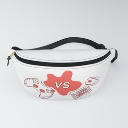 Consoles vs pc games Fanny Pack