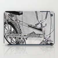 70s iPad Cases featuring 70s Iconic Bike Uk by Paul & Fe Photography